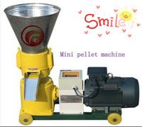 Energy efficient and environmental SKJ120 Flat die pellet machine