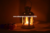 Hotsell Ikea Style Iron Metal Storm Lantern Classic European Houselet Design with Hollow out Stars Hurrican Candle Holders Lamp