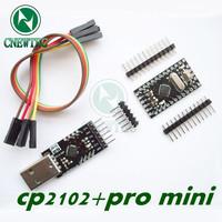 CP2102 Module +  Pro Mini Module Atmega328 5V 16M Compatible With Nano
