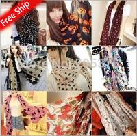 2014 New Fashion autumn-summer ice silk Scarf women winter warm Tassel Scarf Wrap Shawl scarves Lovers 15 styles free ship gift