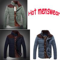 2014 New Spring  jacket men winter men's cotton collar short paragraph outdoors outdoor jacket down jacket men's cotton jacket