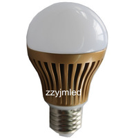 High power CREE 5W LED  Bulbs Dimmable E27 85-265V LED Lights downlight Ball Lamp