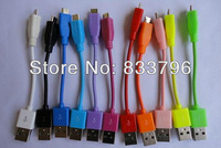 2014 Newest 10Pcs/Lot  5pin 10cm  Micro usb data cable for samsung for HTC for Blackbarry for Nokia free shipping