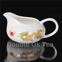 14pcs Dragon Paintings Gongfu Tea Set 1 Ceramic Gaiwan 8 Porcelain Tea Cups Porcelain Service For