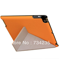 Orange Transformers Flio Smart Cover PU Leather Case for iPad 2/3/4 Free Shipping