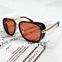 Free Shipping 2013 Hot Sale Men sunglasses Iron Man Downey same paragraph MATSUDA M3023 wind Air force Sunglasses for men g703