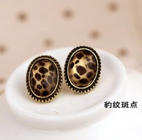 Min Order$15 Free Shipping  Fashion Jewelry, Lady's Popular Leopard Stud Earring Female's Stud Earring  Trend Earring For Women