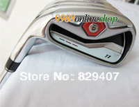 2013 New  golf clubs m R.11 Mens irons sets 4-9.P.A.S(9pcs)graphite shaft Regular and Stiff EMS Free Shipping