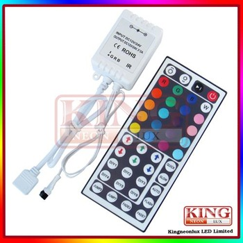 IR remote controller 44key 12V SMD 5050 RGB LED strip Free shipping