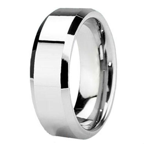 Cobalt Metal Ring Tailor Made 8mm Cobalt Ring