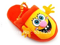 Children's shoes, warm cotton slippers winter home boys and girls with cute cartoon package soled shoes, home