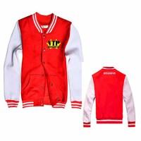 KPOP BIGBANG VIP New Fashion Special Baseball Uniform Shirt Mixed Wholesale BQF012
