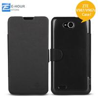 Original Nillkin Flip Case for ZTE V987/V967s Smartphone Black Color