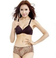 Retail Sexy Bowknot No rims Stripe bra Japanese Style B cup