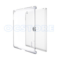 New Hot Sell Ultra slim Transparent Crystal Clear Durable Classic PC Hard Plastic Skin Shell Back Case Cover for iPad 2 3