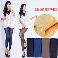 2013 Winter Women Coat Bamboo Carbon Fiber Double Thermal Warm Skinny Slim Footless Pants Leggings