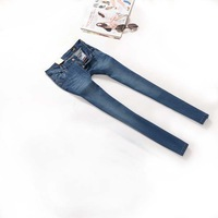 2013 Autumn Winter designer lDEE stretch women jeans women skinny pencil jean pants trousers blue size 26-30#