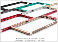 Top-level Metal Ultra-thin Bumper Frame for HUAWEI Ascend P6 Multicolour Cell Mobile phone protector Covers Cases