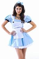 halloween costumes for women Sexy Costume Wonderland Alice Cosplay Party Costumes Wonderland Flirt LC8240