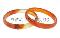 Free shipping!!!Red Agate Bangle,Designer Jewelry, 11-12mm,54-58mm, Length:6.6-7.2 Inch, 5PCs/Bag, Sold By Bag