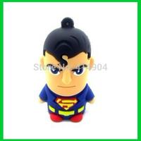 Christmas Gifts New Cartoon Super man/Green Lantern/American Captain/Batman/Spiderman model usb flash drive stick pen drive 32gb