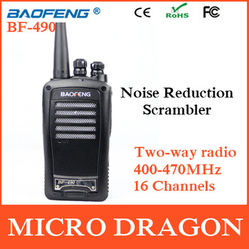 New BaoFeng BF-490 Professional Dual Band Transceiver FM Ham Two Way Radio Walkie Talkie Transmitter cb Radio Station