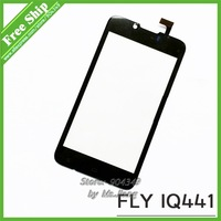 Touch screen Digitizer front glass replacement for FLY IQ441 Touch Screen Front Glass Fits Gionee GN700W Assembly + Free Screen