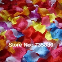 FREE SHIPPING Multi color wedding decoration petals marriage personalized wedding supplies 140pcs/pack