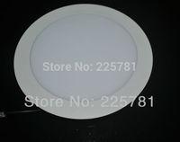 Downlight 6inch/15W Led panel light Free shipping DHL/FEDEX 10pcs/lot new Ultra thin design AC90-250V