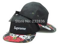 Supreme 5 Panel Hat Floral Snapback leaves hats most popular mens sports baseball caps