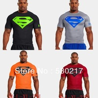 Free shipping  super quality  3d supermen short sleeve t shirt original style europe reserva 100% cotton HOT Sell  Size M-XXL