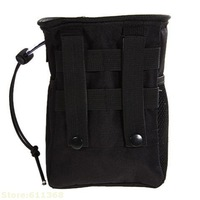 Tactical Compact Gear Magazine Drop Pouch For hunting tactical bag Black Free Shipping