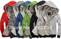 new 2013 the sport suits big size winter thick the coat hoody the suit casual men outdoors hot selling  free  brand