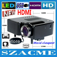 New !! GP5S HDMI Mini Micro AV LED Digital Video Game Projectors Native 320 X 240 Multimedia player Inputs AV VGA USB SD