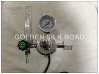 free shipping INPUT 220V pressure regulators,MIG MAG  welding mahcines  gas flow meter