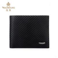 2014 Hot sale men wallet+genuine leather wallet   Upright/Horrizontal brown designer brand money bag MBQ9031BF/CF
