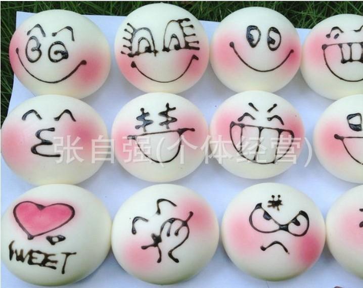 wholesale 100pcs/lot new hot selling kpop kawaii squishy buns rhinestone lanyard(China (Mainland))