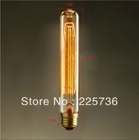 1900 Antique Vintage Edison light Bulb 40W 220V/110v radiolight Large Squirrel cage Tungsten home decoration FREE SHIPPING,T185
