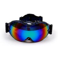 2015 More Color Men Women New Snowboard Ski Goggles Double Lens UV-Protection Anti-Fog Skiing Glasses Winter Myopia Goggles 266