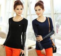 Free Shipping 2014 Autumn Winter New Fashion Korean Women Wool Knitted Cardigan Casual Sweaters Fall Warm Cardigan Clothing