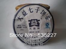 Pu Erh Promotion!7542 901 Menghai Dayi Puerh Tea 357g Cake YunNan Puer Sheng Raw Tea 2009 chinese Pu'Er Brick Tea, Free Shipping