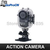 Full HD 1080P Sports Helmet Outdoor Camera SJ1000 Underwater 30m Mini DV Camcorder H.264 Action camera for Bike/Diving/Surfing