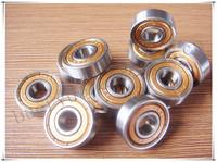 Cheap roller skates bearings Free shipping roller skate inline skates bearings 608ZZ Skate shoes bearings Gold shield ABEC-11