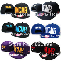 High Quality many Colors Fashion Men Hiphop YMCMB Women Snapback Baseball Caps Sports Cap Mix Wholesale Free Shipping
