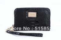 new 2013 woman brand day clutch coin purse mini bag mobile phone package zipper  leather wallet 14x9x3cm free shipping 0902