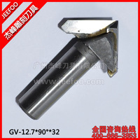 12.7*90Degree*32  CNC Engraving 3D Bits Router/V Groove Bits/Special 3D engraving Bits