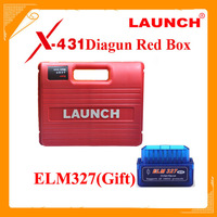 Promotion! Launch x431 Diagun main unit+ diagun bluetooth x 431 Launch Diagun Red box for Launch Diagun x-431