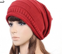 2014 Winter New Arrival Women'sfree shipping  Hats  Lady's Caps Acrylic Warm Woman's Headwear Quality Goods Nice Hat For Female