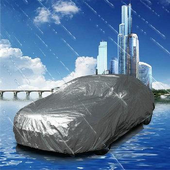 4.3m/4.8m/5.4/5.8m Universal Suit Anti UV Rain Snow Resistant Waterproof Outdoor Full Car Cover M/L/XL/XXL For Choice