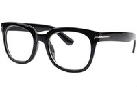 Parzin Fashion Plain Glasses Fashion Oversized Plain Frame Tiger Eyeglasses Frames